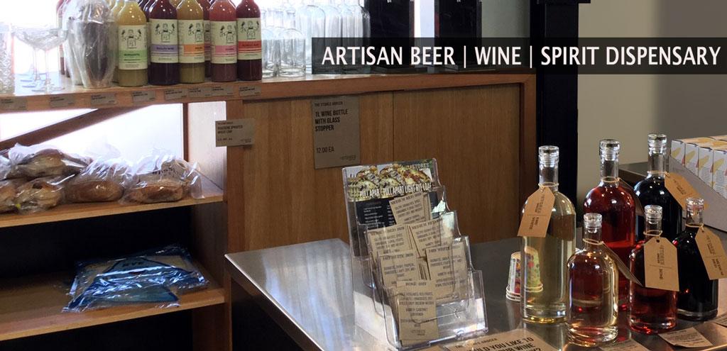 Artisan beer, wine and spirit dispensing